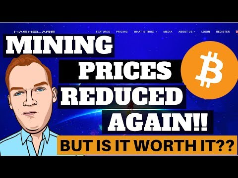 Hashflare Lowers Bitcoin Mining Prices Again, Are They Profitable to Buy?
