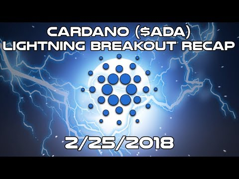 CARDANO ($ADA) – Lightning (BREAKOUT) Recap – Cryptocurrency News and Technical Analysis (2018)