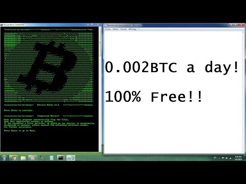 [Free] Bitcoin Miner (about 0.002 BTC a day) + Silent Miner Builder [2018]