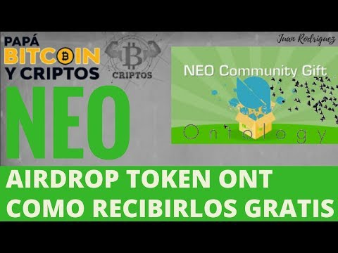 NEO Airdrop | Como recibir gratis tokens Ontology-ONT |
