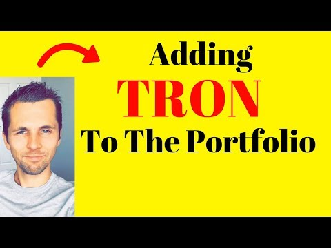 Hold Your Bitcoin Position – Adding Tron (TRX) Altcoin to The Portfolio