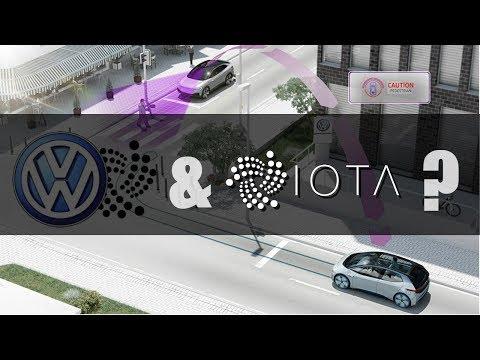 Crypto News – Volkswagen Announces Partnership with IOTA??