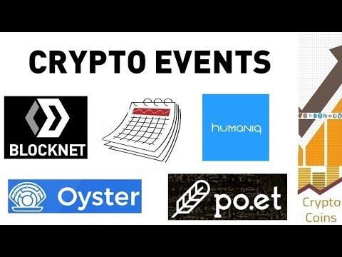 Upcoming Cryptocurrency Events (beginning of March) – Looking for Good Investments and Pumps