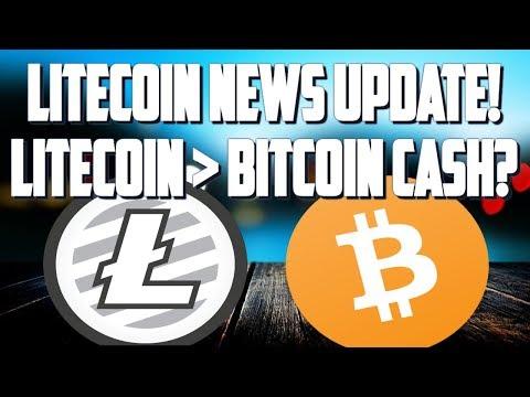 LITECOIN LITEPAY UPDATE! WILL LTC PASS BITCOIN CASH?