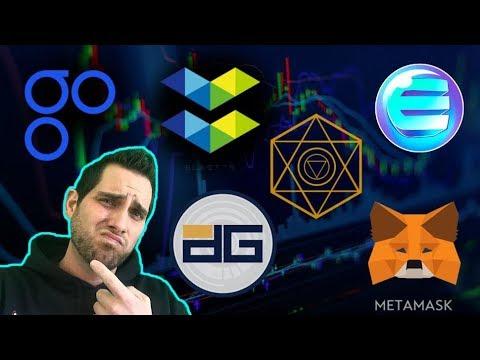What Is DigixDAO? OmiseGO eWallet SDK | Enjin Minecraft | Elastos | Alchemint | $DGD $OMG $ENJ $ELA