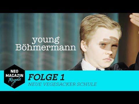 Young Böhmermann Folge 1 – Neue Vegesacker Schule | NEO MAGAZIN ROYALE mit Jan Böhmermann – ZDFneo