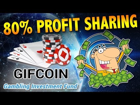 Investment Fund for Gambling?! – Profit Share of 80% – GIFCoin ICO CryptoCurrency Review