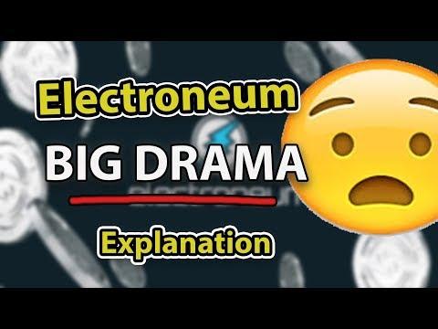 Electroneum DRAMA – I'm Sorry…