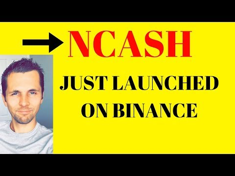 "NCash New Alt Coin – Buying ""Nucleus Vision (NCash) Coin"" on Binance"