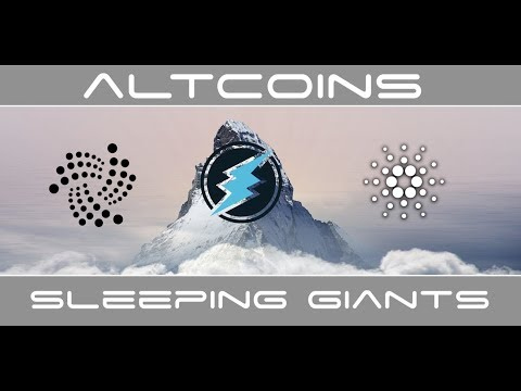 Top 3 Cryptocurrency Altcoin Sleeping Giants For Jeff