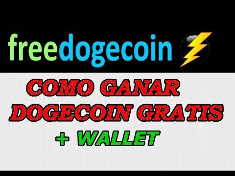FreeDogecoin La Mejor Pagina Para Ganar DOGECOIN GRATIS