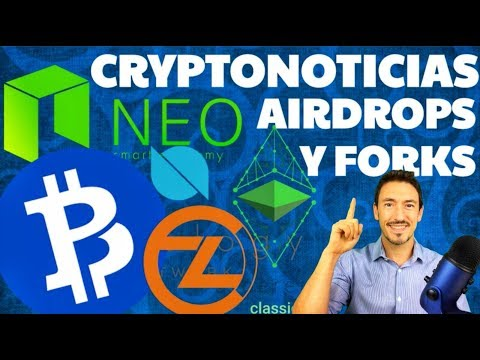 !ÚLTIMA HORA FORKS Y AIRDROPS! BTCPRIVATE, NEO, ETHEREUM CLASSIC