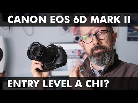 CANON EOS 6D MARK II: ENTRY LEVEL A CHI?