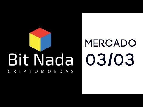 Mercado de Cripto! 03/03 Dominância BTC / IOTA / Monero