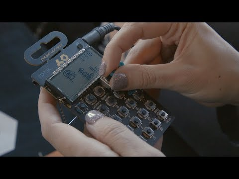 These Pocket Operators let you record your voice and sample