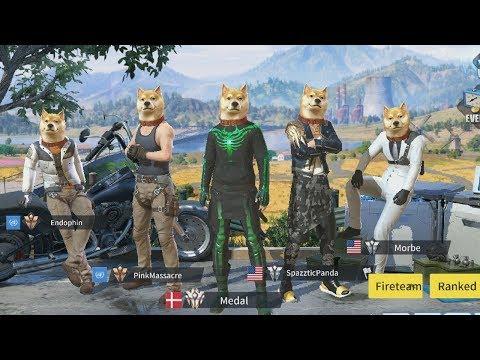 Doge Squad Rules Of Survival Battle Royale