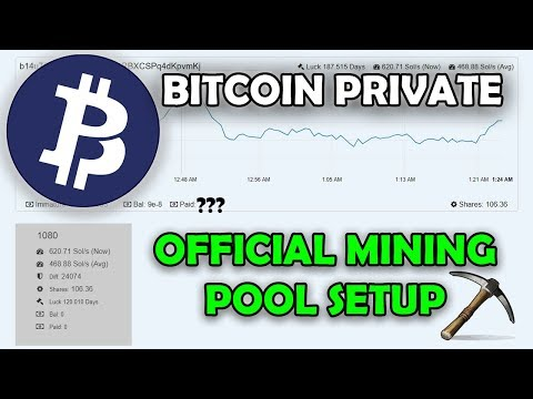 Bitcoin Private Official Mining Pool Setup Guide – Awesome Miner