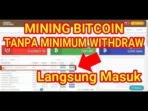 Mining BITCOIN UNIK Tanpa Minimum WD. Langsung Masuk ke Faucethub.