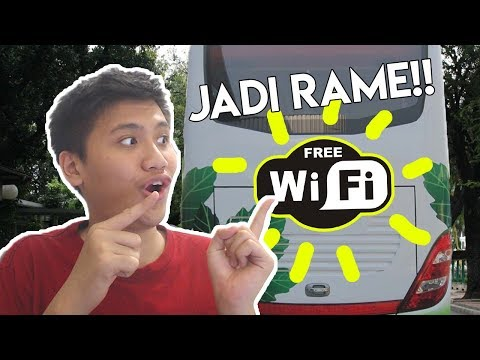 Bus ini ada wifi gratis.. :v – Mobile Bus Simulator Indonesia