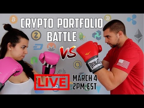 Crypto Portfolio BATTLE – YOU Pick Our Cryptocurrency Investment! VoskCoin VS Miss Vosk [Part 1/3]