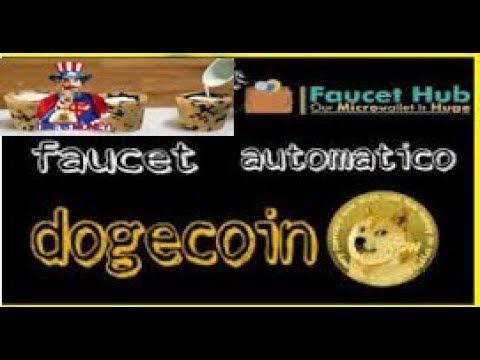 Dogecoin No automatico Pagando Muito bem Faucet 2018