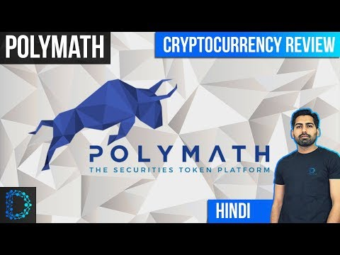 Cryptocurrency Review- Polymath (POLY) – Emergence Of Securities Token -Price Prediction[Hindi/Urdu]
