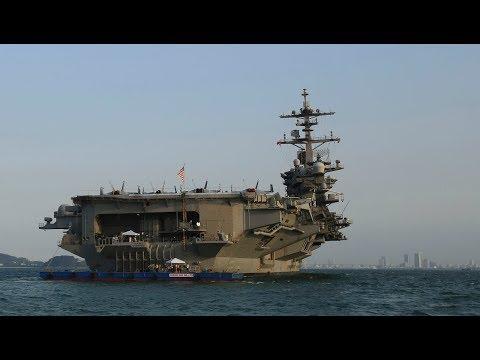 Tàu USS Carl Vinson đã neo đậu trong Vịnh Đà Nẵng