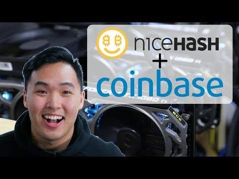 Nicehash Bitcoin Mining with 1080tis and Coinbase Easy Payments