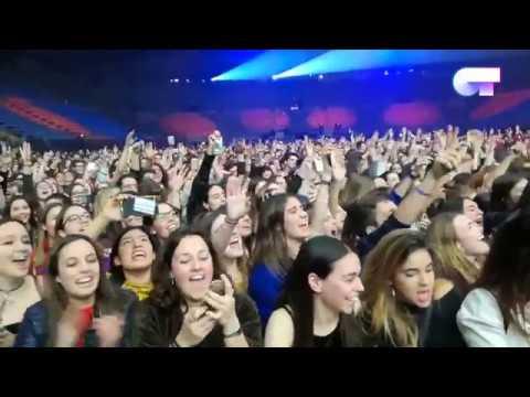 ¡EXCLUSIVA! PRIMEROS 5 MINUTOS CONCIERTO DE BCN | OT 2017