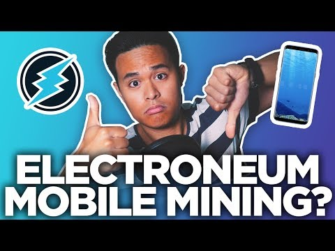 ELECTRONEUM ETN MOBILE MINER FINALLY GOES LIVE + THE TRUTH ABOUT ETN MOBILE MINING