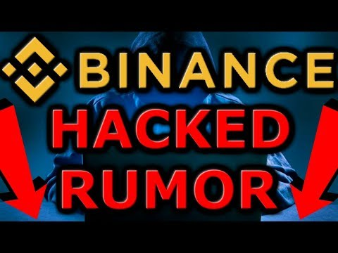 Binance HACK RUMORS Cause Cryptocurrency Market CRASH!