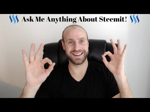Ask Me Anything About Steemit! I Answer Your Questions!