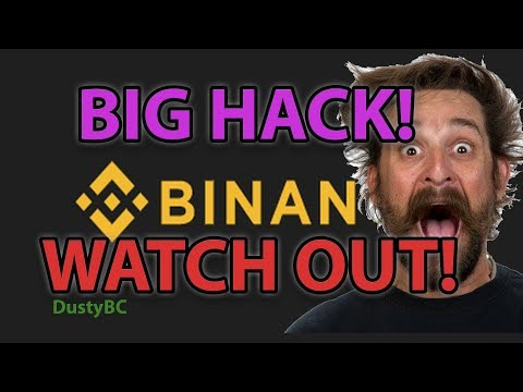 BINANCE WHALES HACKED! BITCOIN FLASH CRASH!