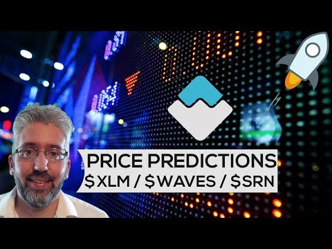 Price Predictions: Stellar ($XLM), Waves ($WAVES), & SIREN LABS ($SRN)!