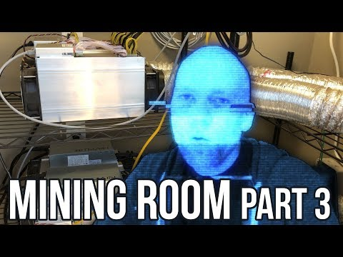 Mining Farm Update #3 – Antminer S9 bitcoin miner,  Litecoin L3+ and Ethereum too