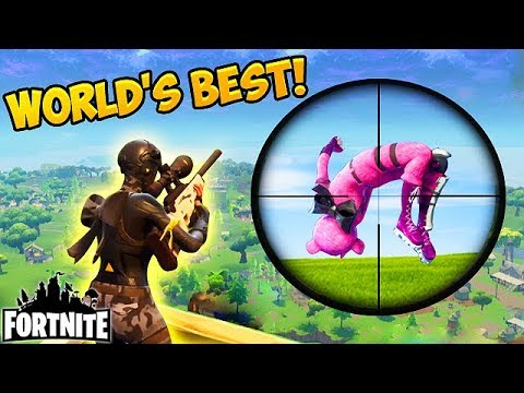WORLDS GREATEST SNIPER SHOT! – Fortnite Funny Fails and WTF Moments! #128 (Daily Moments)