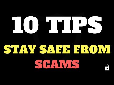 10 Cryptocurrency Tips to Stay Safe from Hacks, Scams and Phishing attempts