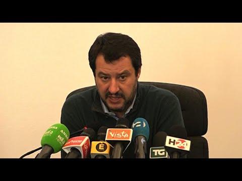 """Milano, Salvini: """"Spero Pd sia disponibile a una via d'uscita per il paese"""""""