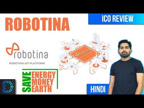 ICO Review – Robotina (ROX) – Future Of Decentralized Energy Solutions With IoT  – [ Hindi / Urdu ]