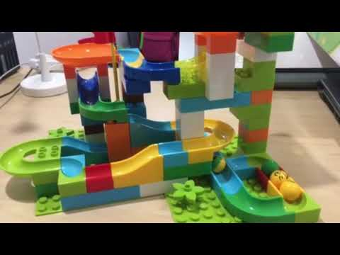 Review – Crazy Happy ball – rolling ball rail blocks