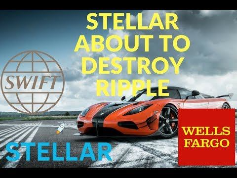 Stellar Lumens + SWIFT= Ripple DESTRUCTION!