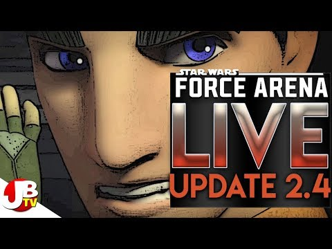 Star Wars Force Arena – LIVE! UPDATE NEWS! Plus Kyber Cup Event