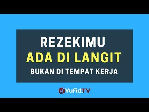 Rezekimu Ada di Langit, Bukan di Tempat Kerja – Poster Dakwah Yufid TV