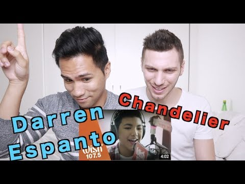 Darren Espanto – Chandelier (Sia) LIVE Cover on Wish FM 107.5 Bus HD | REACTION