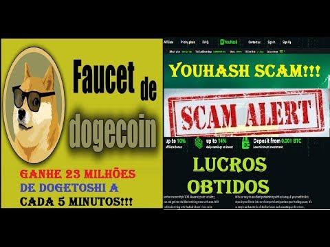A MELHOR FAUCET DE DOGECOIN DO MOMENTO GANHE 23 MILHÕES DE DOGETOSHI EM 5 MIN + YOUHASH SCAM LUCROS