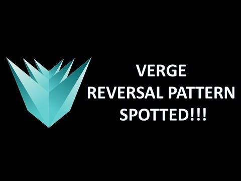 VERGE (XVG) – REVERSAL PATTERN SPOTTED!!!