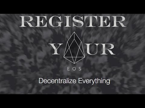 Register Your EOS Before It's TOO LATE! Updated Tutorial