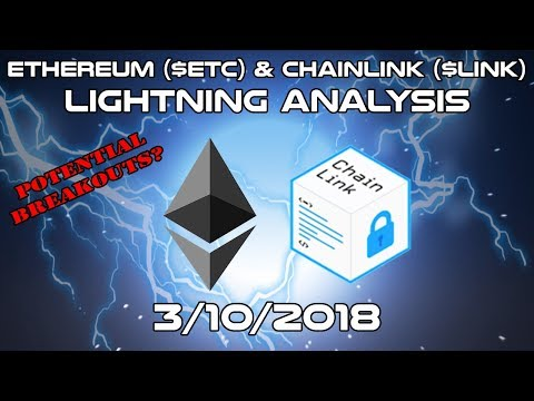 Ethereum ($ETH) & ChainLink ($LINK) – Lightning Analysis – Cryptocurrency Technical Analysis (2018)