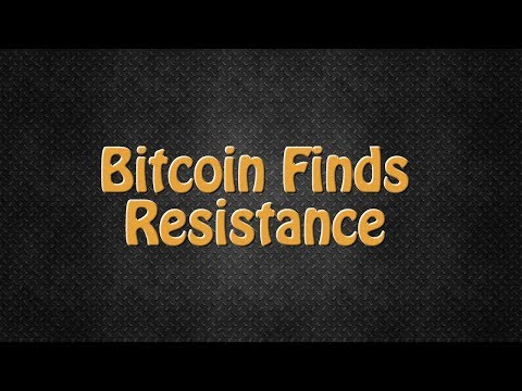 Bitcoin finds resistance, DigixDAO and Aragon showing technical strength