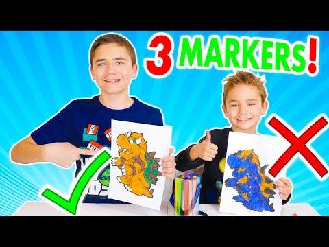 3 MARKER CHALLENGE ! – Swan VS Néo : Pikachu, Zelda, Bowser…